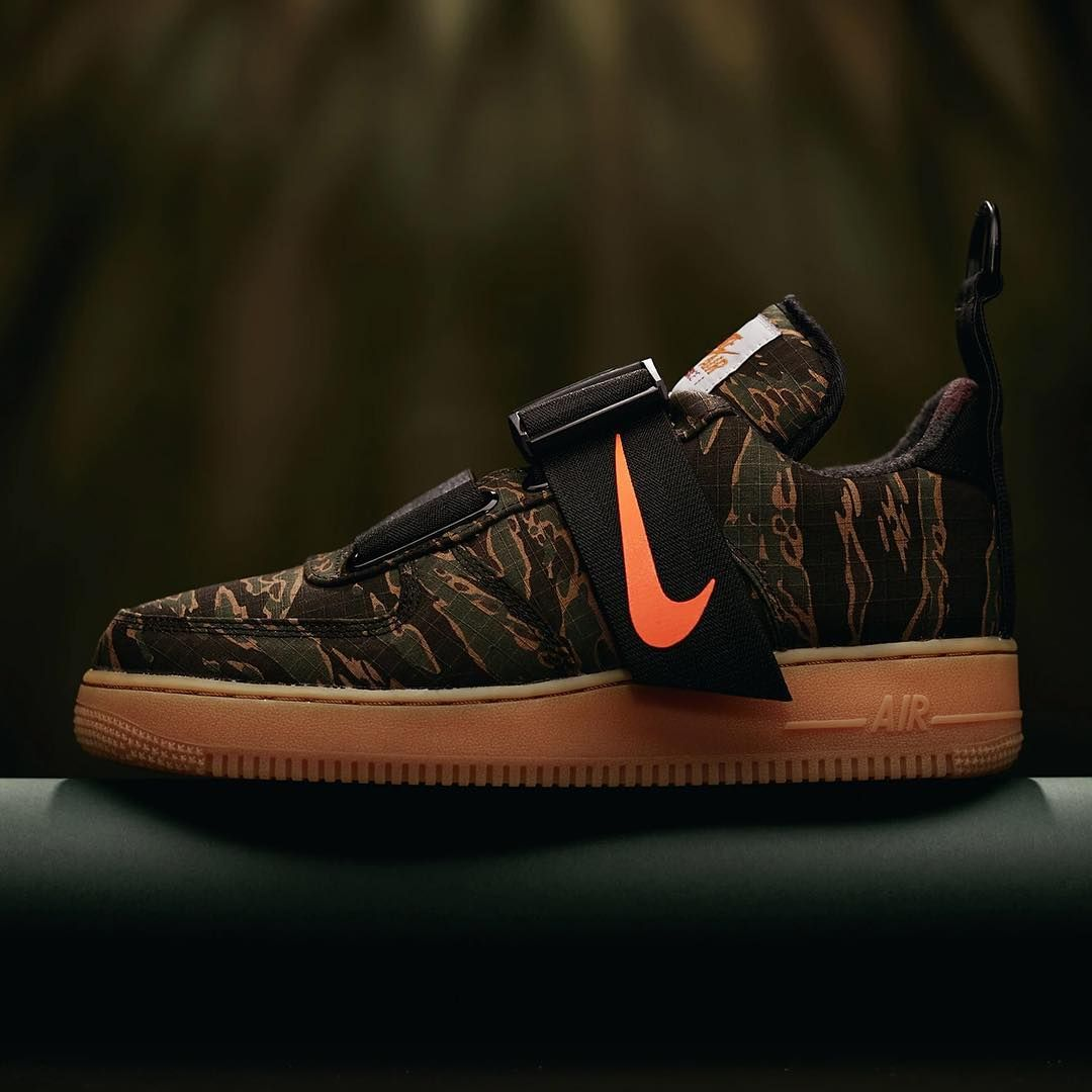 Carhartt x Nike Air Force 1 Utility is releasing on 126. Is