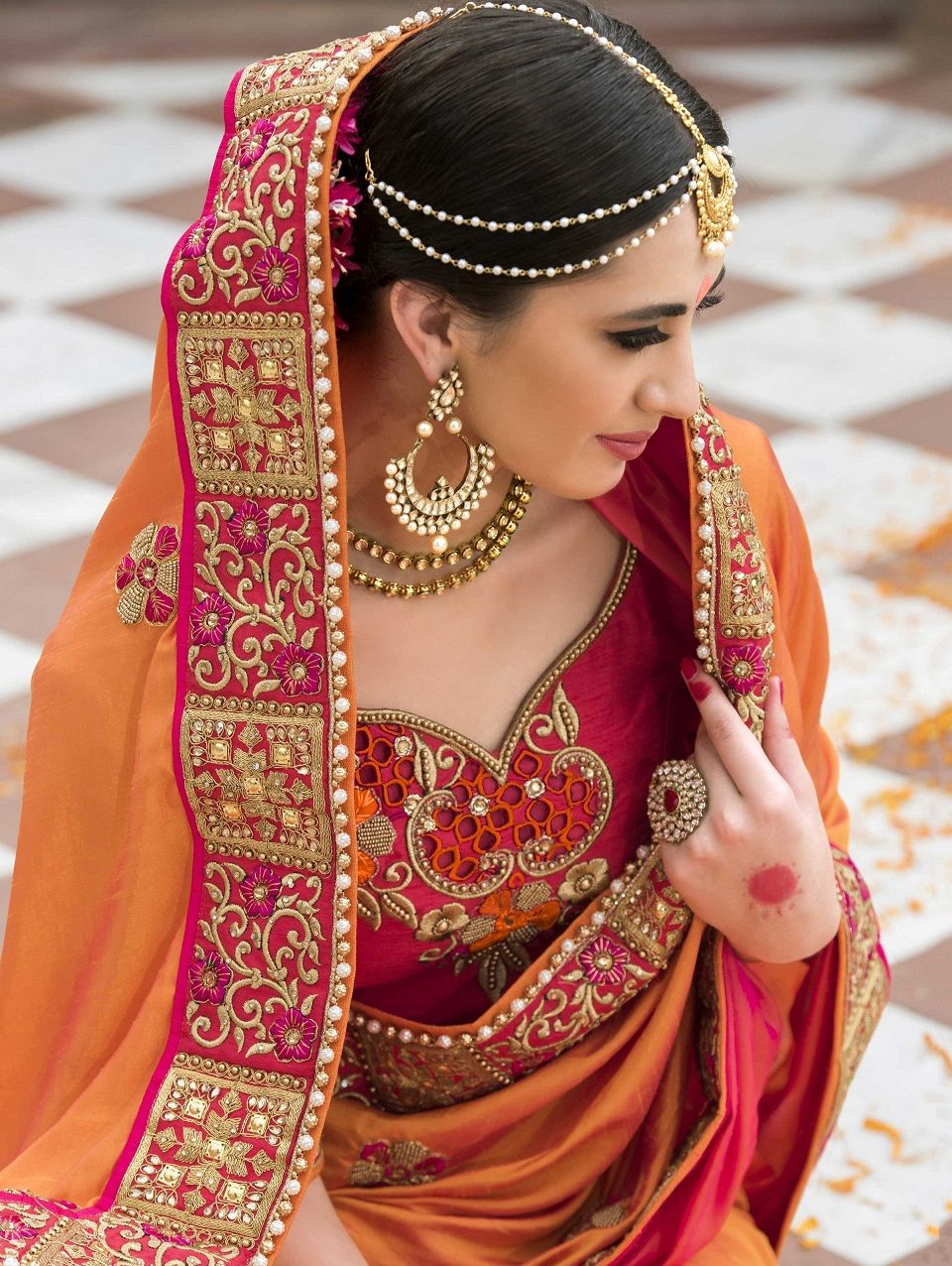 Best Indian Wedding Saree Latest Designs Trends 2020 2021 400 x 300