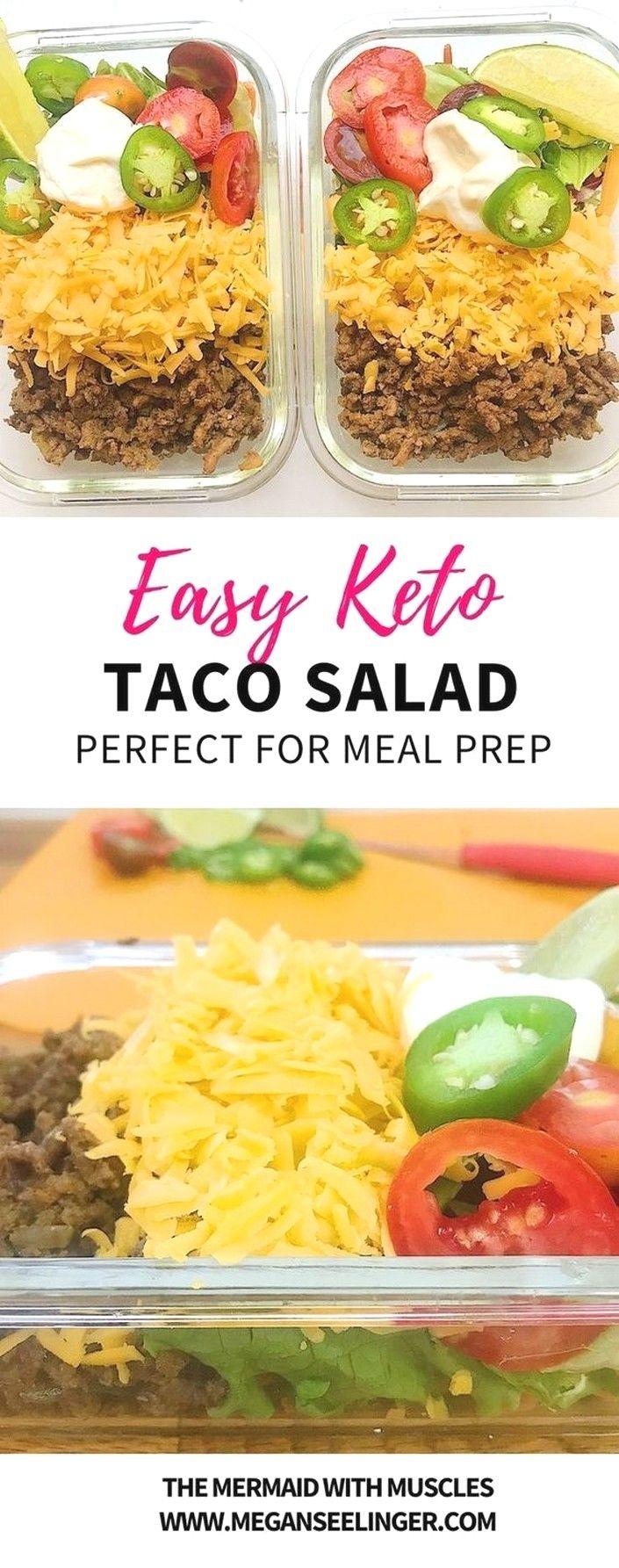 Keto Taco Salad - Easy Keto Ground Beef Recipe   Keto Recipes images