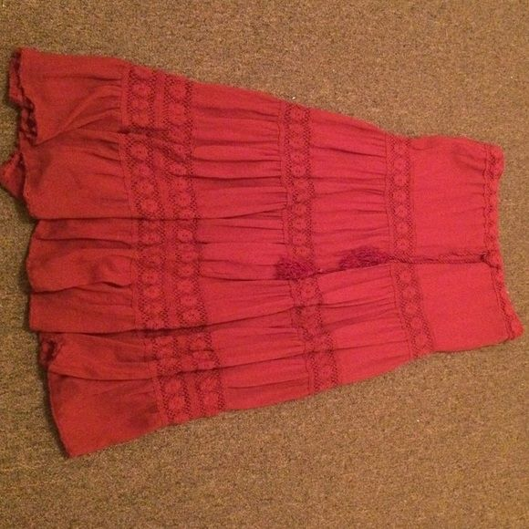 Beautiful maxi skirt 36 inches. Love it but it's too big for me Skirts Maxi
