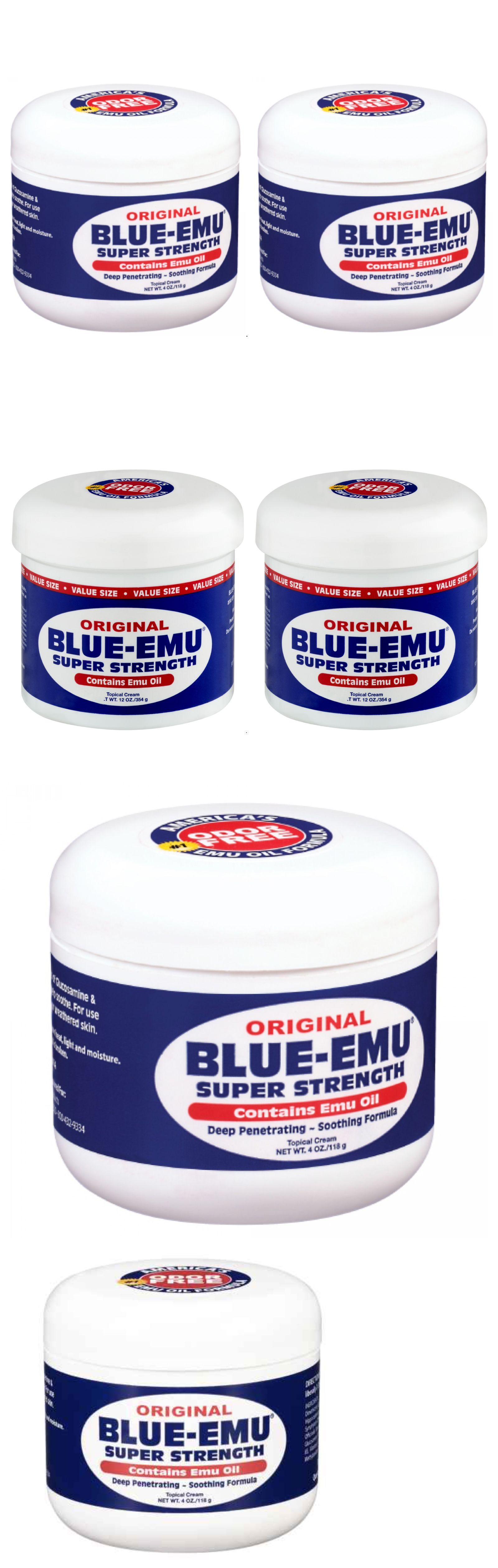 2 Pack Blue Emu Oil Super Strength Arthritis Pain Relief Cream 2x 4