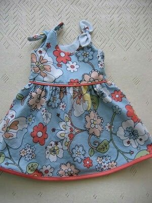 Free baby dress pattern from allfreesewing.com