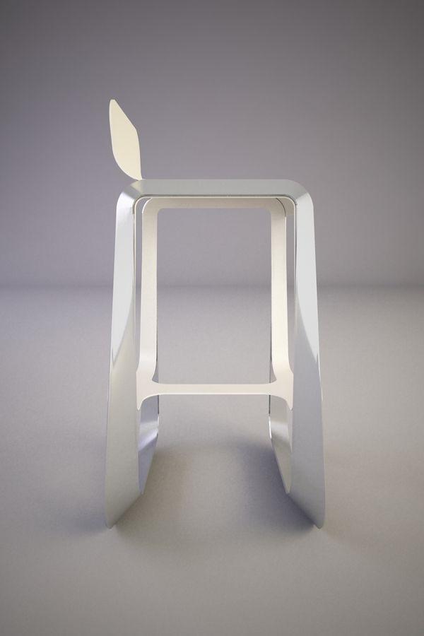 MOCO bar stool by Svilen Gamolov