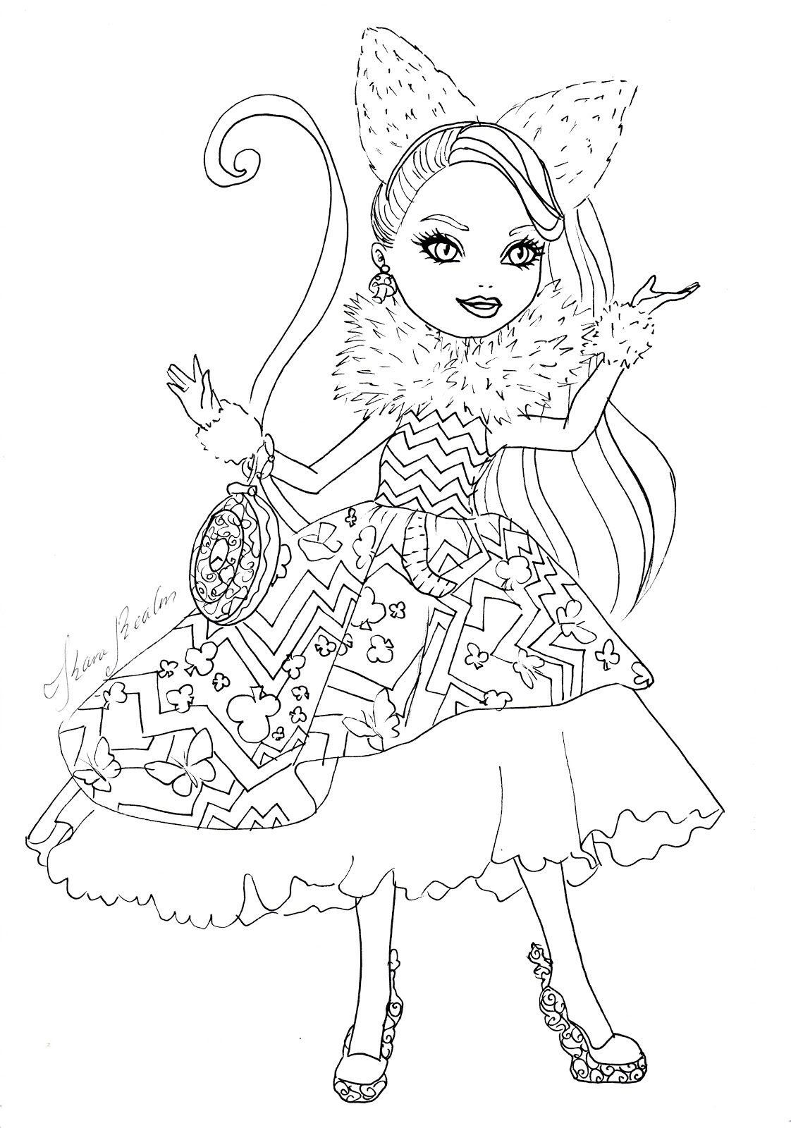 Related Image Ever After HighColoring Pages