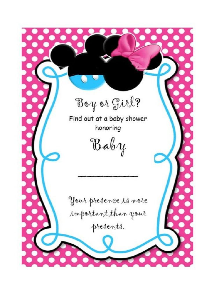 photograph regarding Free Printable Gender Reveal Invitation Templates referred to as Gender explain social gathering invites no cost template Celebration