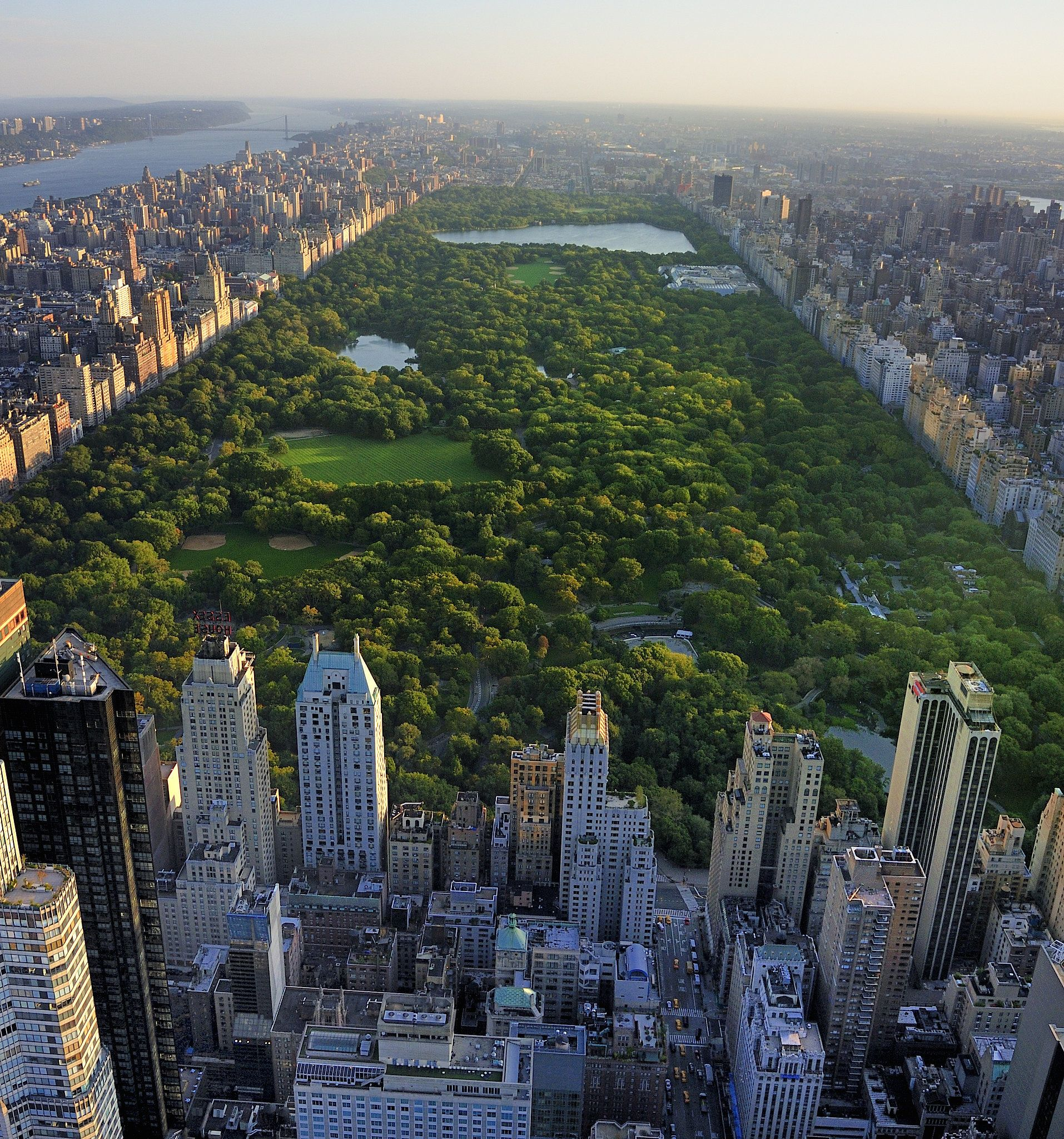 Central Park Usa travel guide, Travel around the world