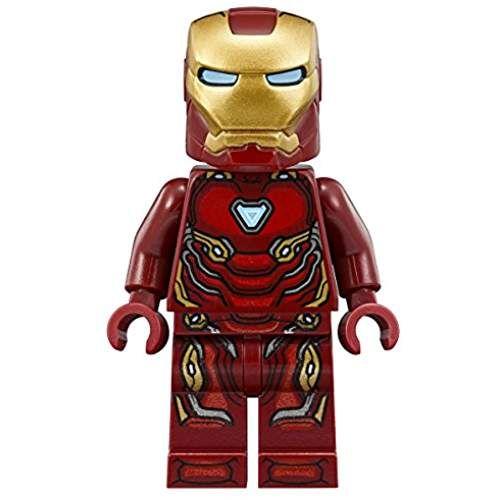Lego Marvel Super Heroes Avengers Infinity War Minifigure Iron Man