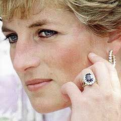 Princess Diana Ring Blue sapphire rings Diana and Ring