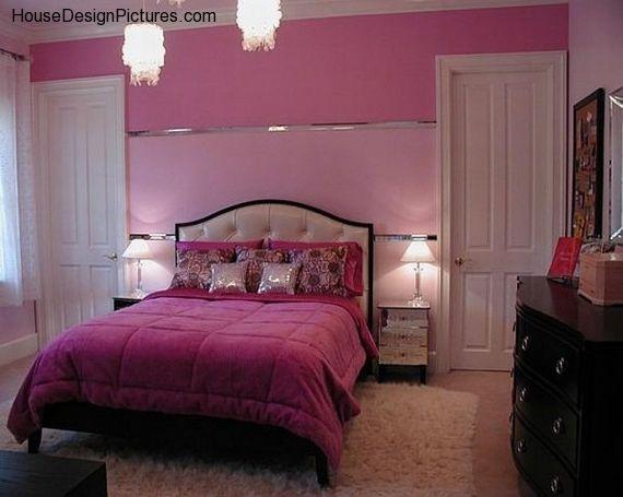Pretty Bedroom Paint Colors Girls Room Paint Bedroom Interior Girls Room Design