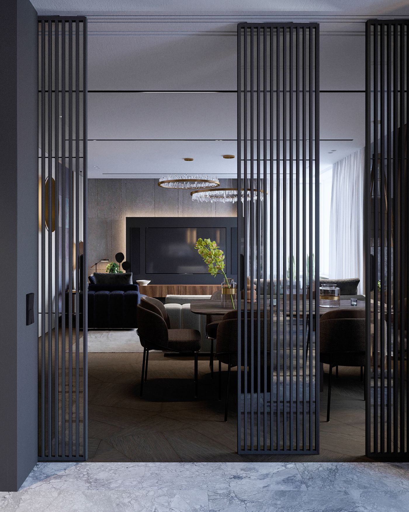 Modern apartment in moscow walls texture u decor pinterest