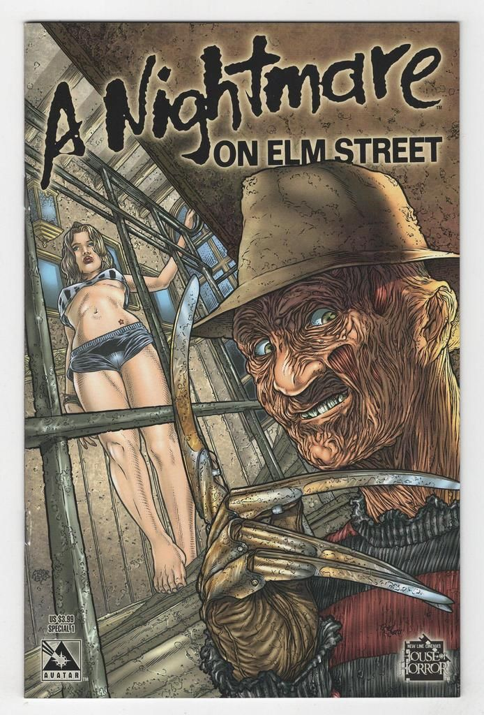 Nightmare on Elm Street #1 Regular Juan Jose Ryp Cover (2005)