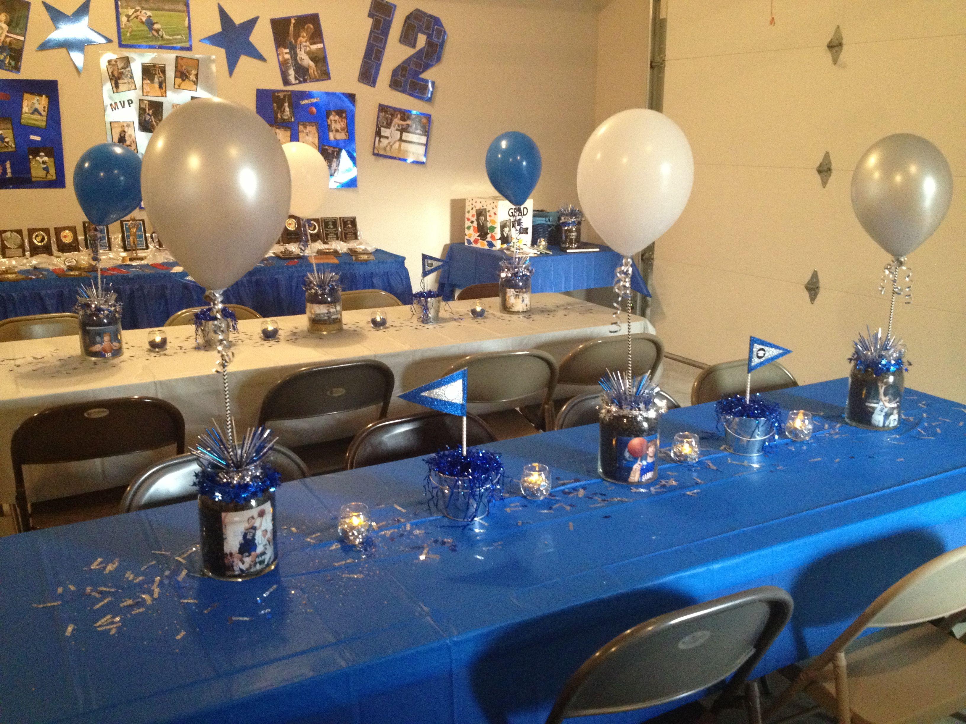 Graduation party table | Graduation party centerpieces ...