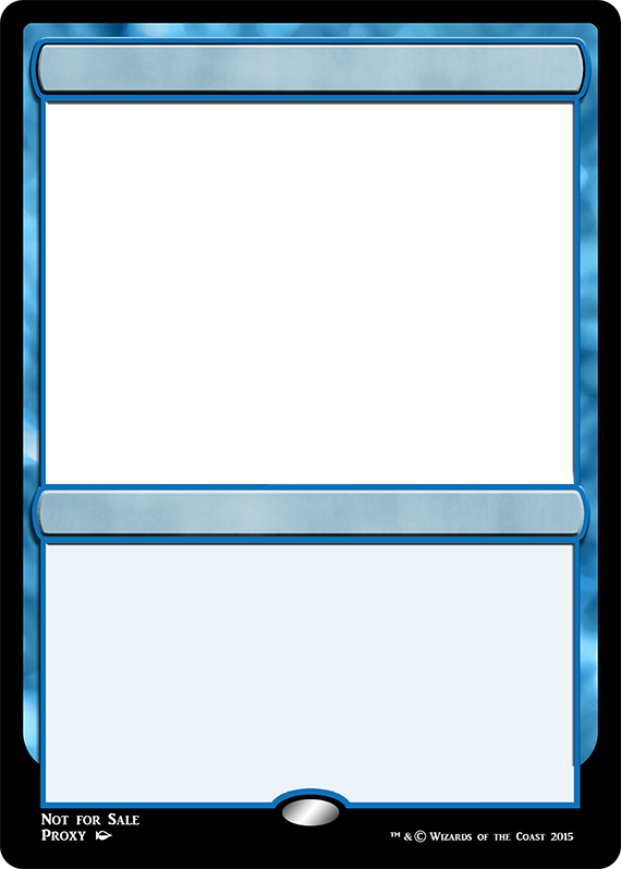 Mtg M15 Blue Spell Fame Magic The Gathering Cards Trading Card Template Magic The Gathering