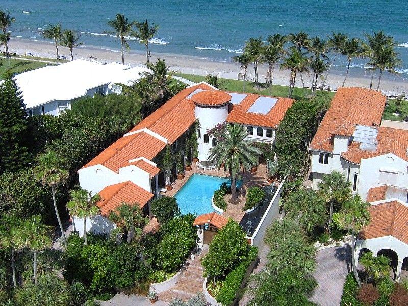 expensive beach homes blossom estate palm beach florida value 130 million owner