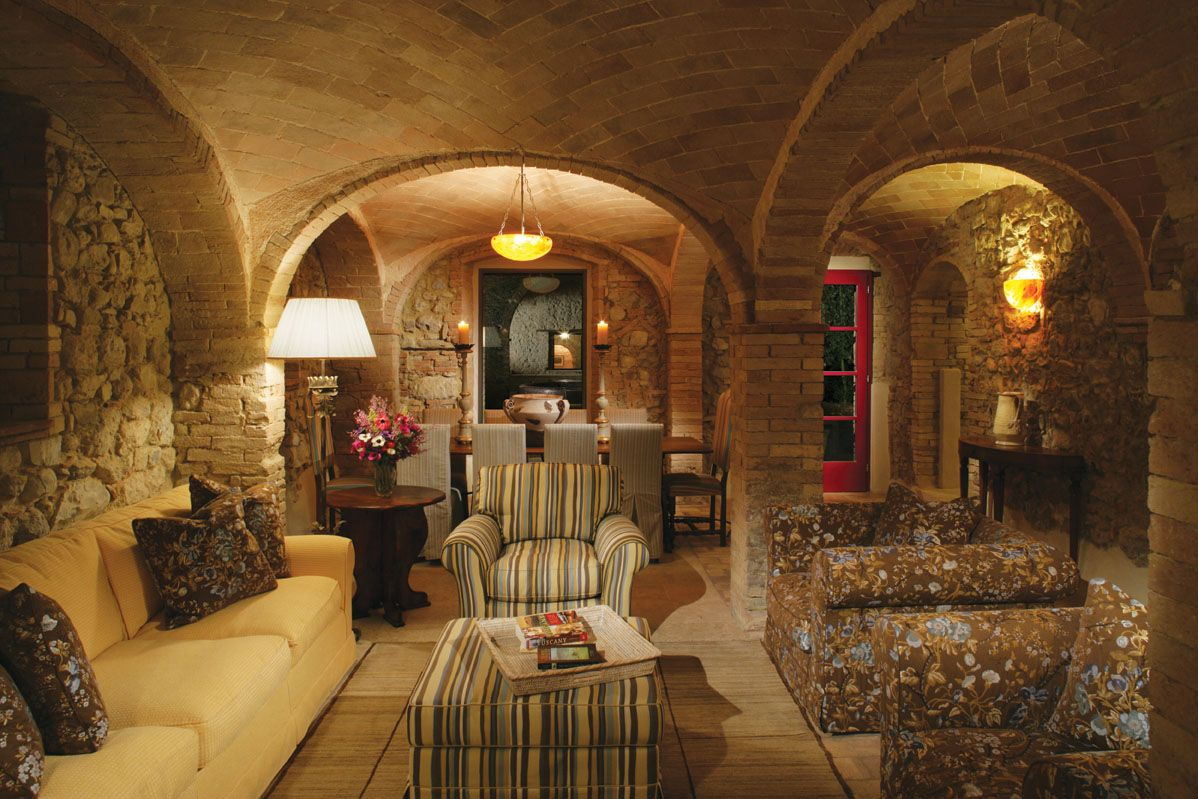 Escaiole At Castello Di Casole Tuscany Villa In Italy Tuscan Decorating Tuscan Decorating Living Room Tuscan Design #tuscan #decor #living #room