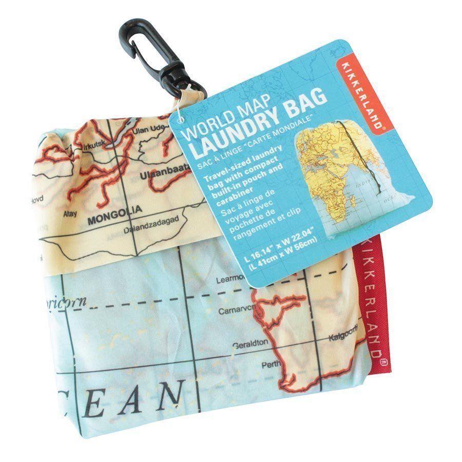 Maps kikkerland travel laundry bag with clip holds 3 kilos of dirty maps kikkerland travel laundry bag with clip holds 3 kilos of dirty clothes wash gumiabroncs Choice Image
