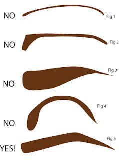 Diagram of the right eyebrow shape hell yeah dont let anyone with diagram of the right eyebrow shape hell yeah dont let anyone with ccuart Gallery