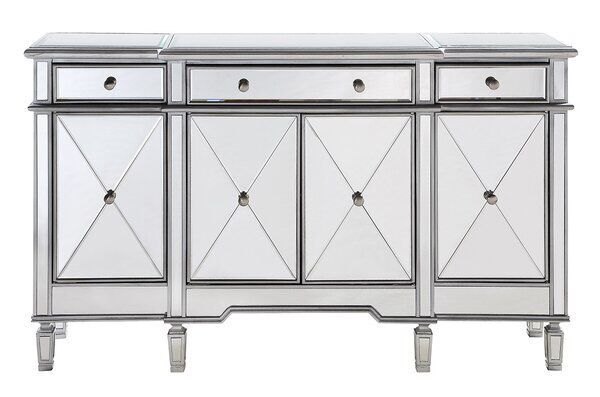 Contempo 60 Wide 3 Drawer Sideboard In 2020 Cabinet Kitchen Design Open Furniture