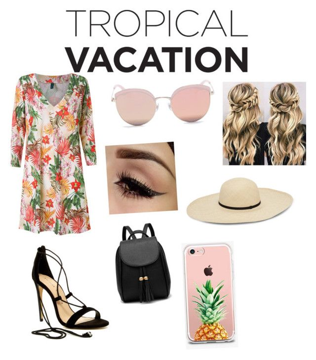 Tropical Vacation by thekidsone on Polyvore featuring polyvore fashion style Lygia & Nanny Chinese Laundry The Casery Stephane + Christian clothing