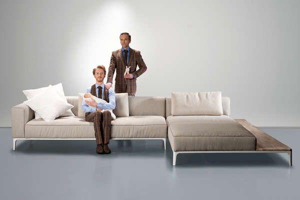 Contemporary Modular Sofas Comfortabele Banken Bankstellen Meubelontwerp