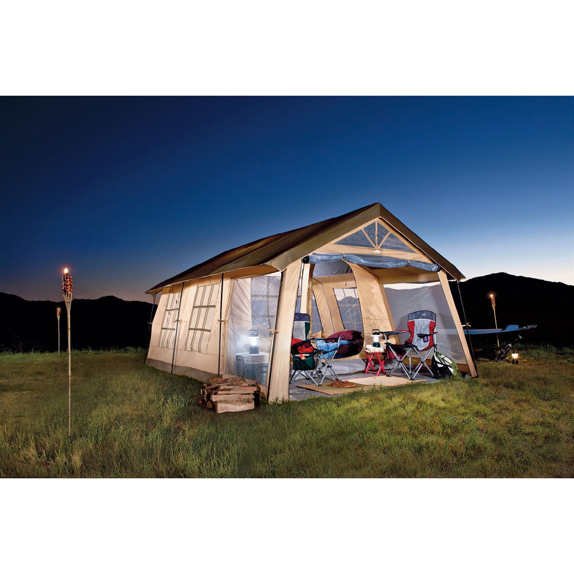 Front Porch 10-Person Tent - Kmart  sc 1 st  Pinterest & Front Porch 10-Person Tent - Kmart | Camping Queen | Pinterest ...