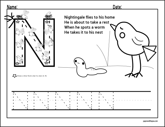 1000+ images about Worksheets on Pinterest | All about me, Letter ...