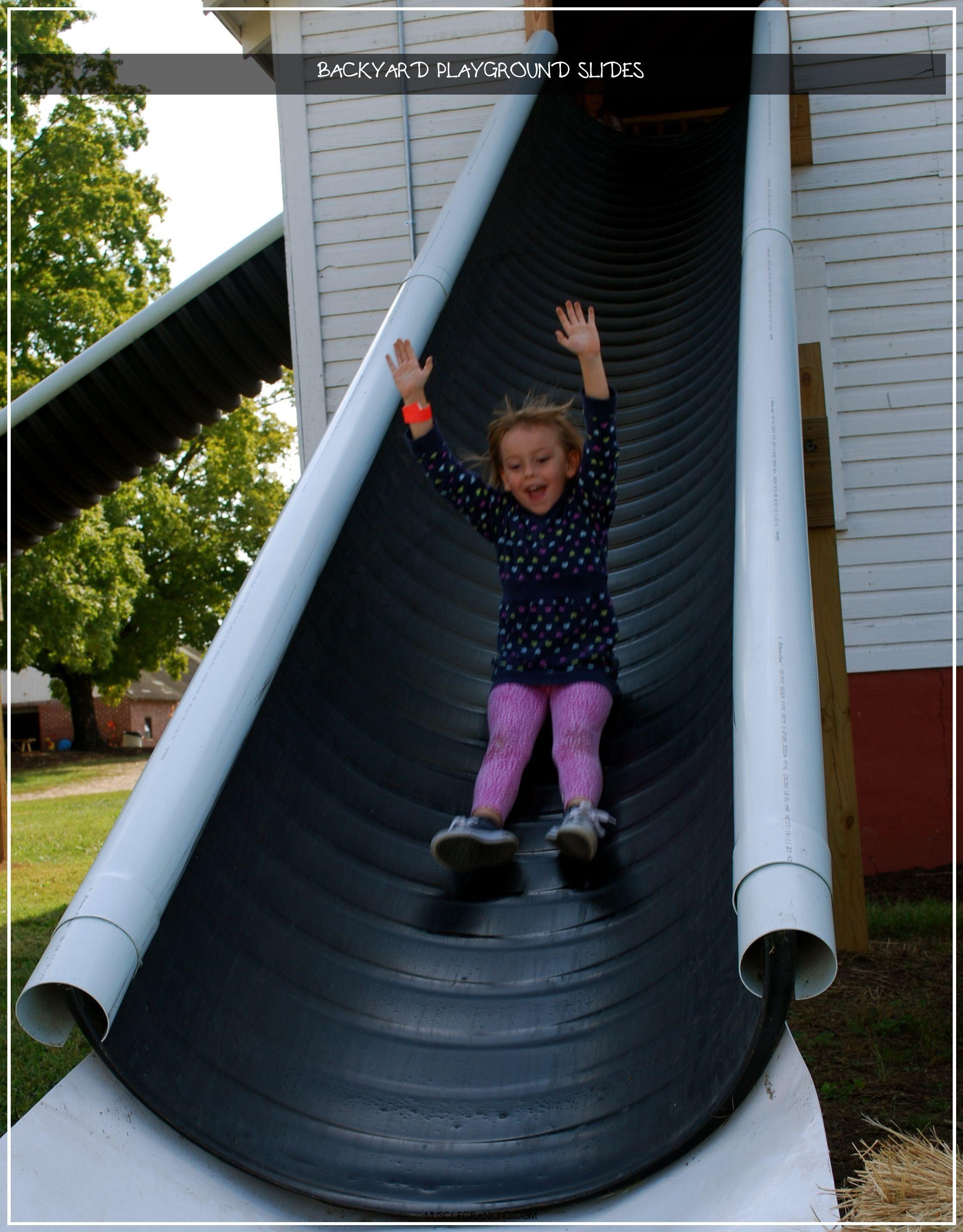 Backyard playground slides 2020 in 2020 backyard slide