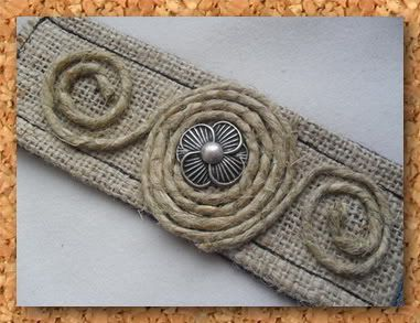 7. Burlap Cuff If one-of-a-kind jewelry is your thing, you will love this particular burlap how-to. I am loving that flower button! You can get creative …