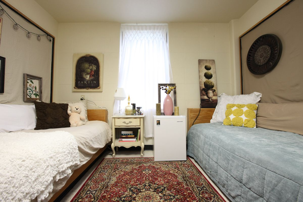 Beautiful Baylor University Residence Hall Room Dorm