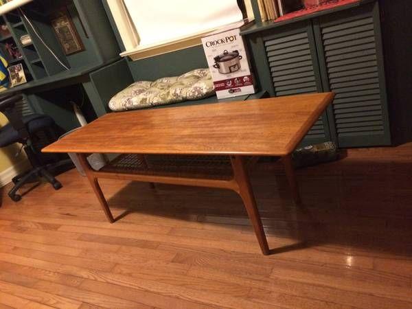 large mid century modern coffee table made in denmark 525 teak and - Mid Century Modern Furniture Toronto
