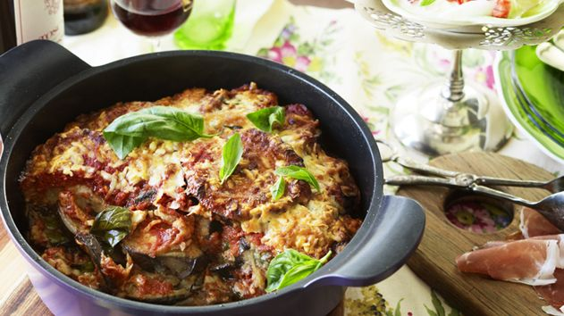 Eggplant parmigiana melanzane alla parmigiana food pinterest 10 things we love about eggplant forumfinder Choice Image