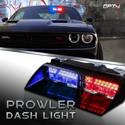 Prowler Emergency Led Dashboard Light Bar Dash Lights Police