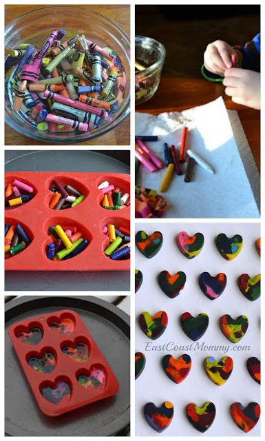 Crayon Valentines {with free printable tags}