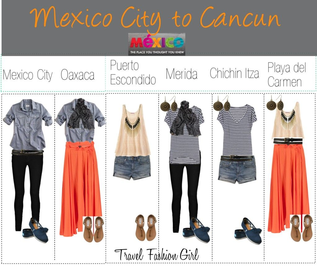 what to pack for mexico - cities to beaches | style | pinterest