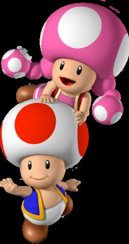 254px Toad And Toadette Mario Party 7 Png 254 479 Juegos De Mario Fondos Mario Bross Decoracion De Mario Bros