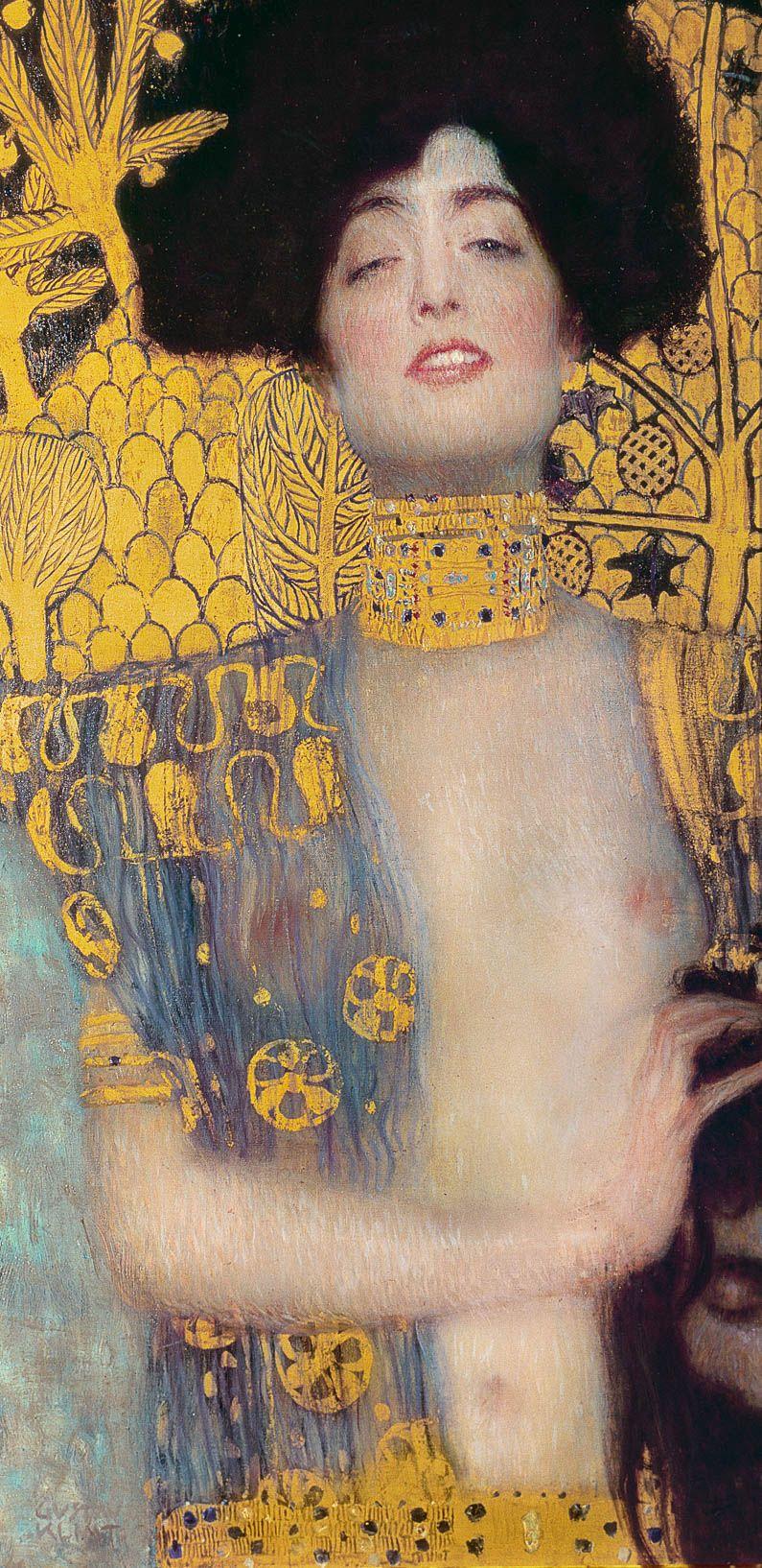 Découvrez l\'œuvre Judith de Klimt et achetez une reproduction peinte ...