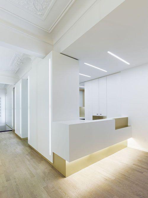 Weissraum #Dental Surgery by Ippolito Fleitz Group +++