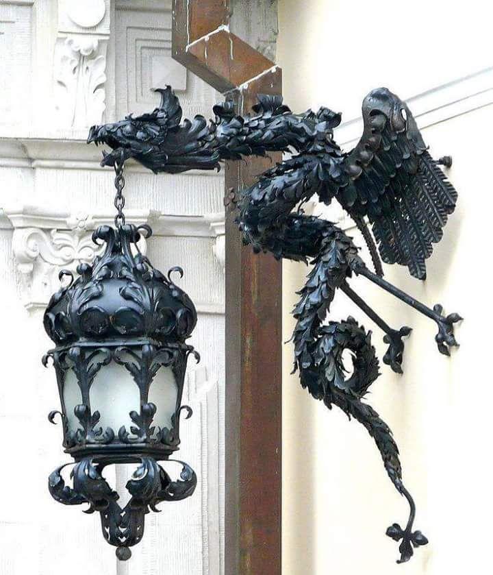 Dragon sconce | Gargoyle/Dragon Statuary | Pinterest ...