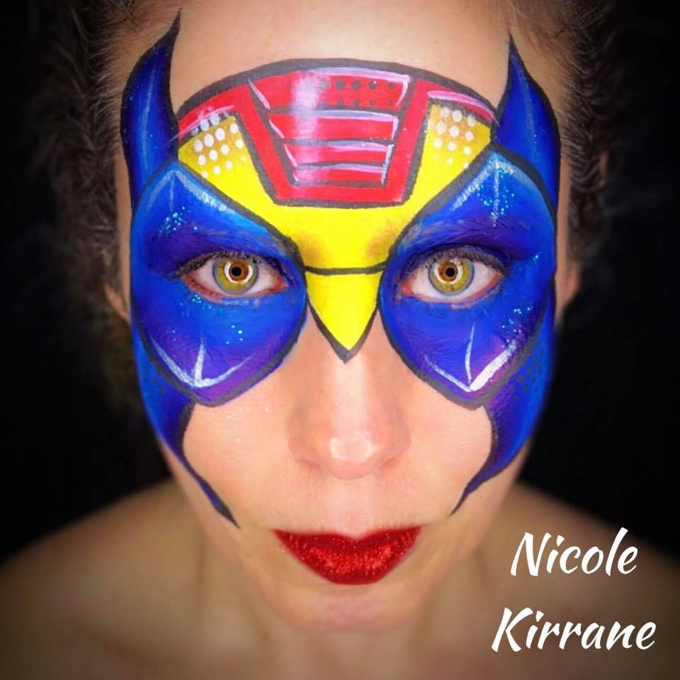 Super Hero Mashup Face Painting Face Painting For Boys Face Painting Easy