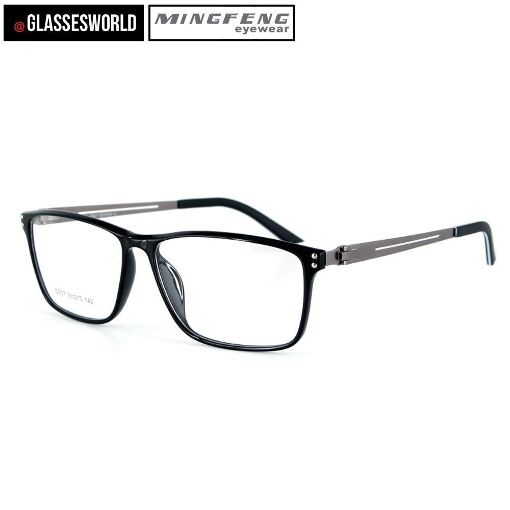 e602efac7f07 Super Light Eyewear Ultem Optical Frame With Stainless steel Glasses temple