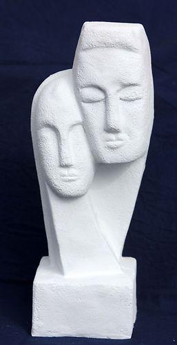 Figur Abstrakt - Steinguss für Wohnung und Garten