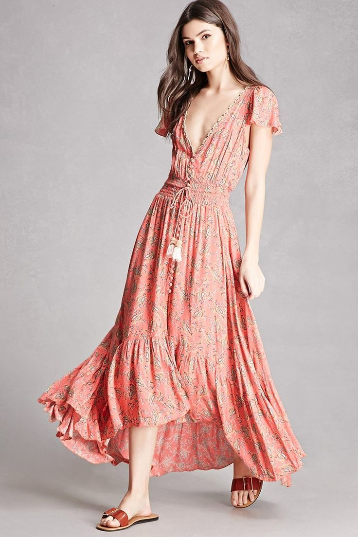 High Low Prom Dresses 2018 A woven maxi dress by Z&L Europe ...