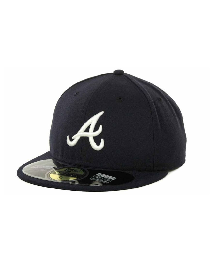 New Era Atlanta Braves Authentic Collection 59FIFTY Hat  205e7ff9cb9