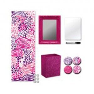 wall pops for lockers locker kit pink safari from brewster home fashions
