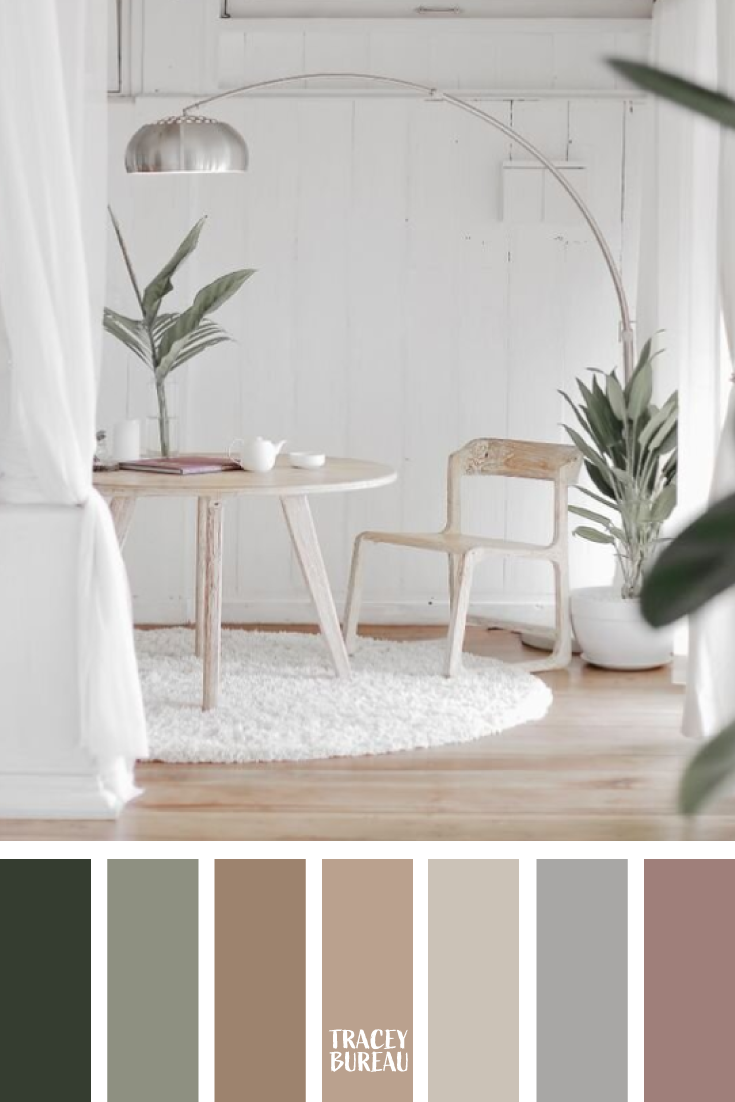 Neutral Mix Color Inspired Palette By Tracey Bureau Image By