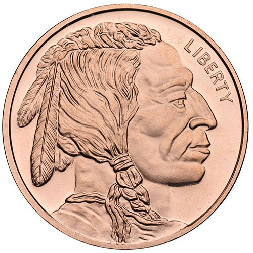 1 Oz Indian Head Copper Round New Indian Head Copper Pure Products
