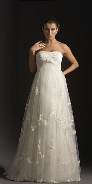 Maternity Wedding Dresses / Vestido de novia premamá | Wedding Gowns ...