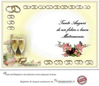 Tanti Auguri Agli Sposi Matrimonio Biglietto Di Auguri Biglietti Di Auguri