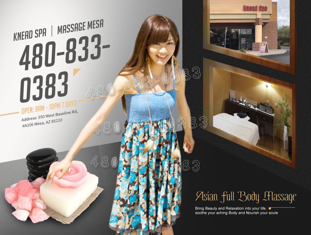 """Knead SPA│Massage Mesa Shower Available Jul 10, 900 AM"
