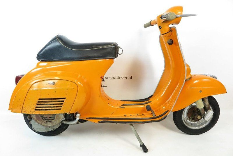 Vespa V50 Vintage Scooter In Rare Original Condition And Paint